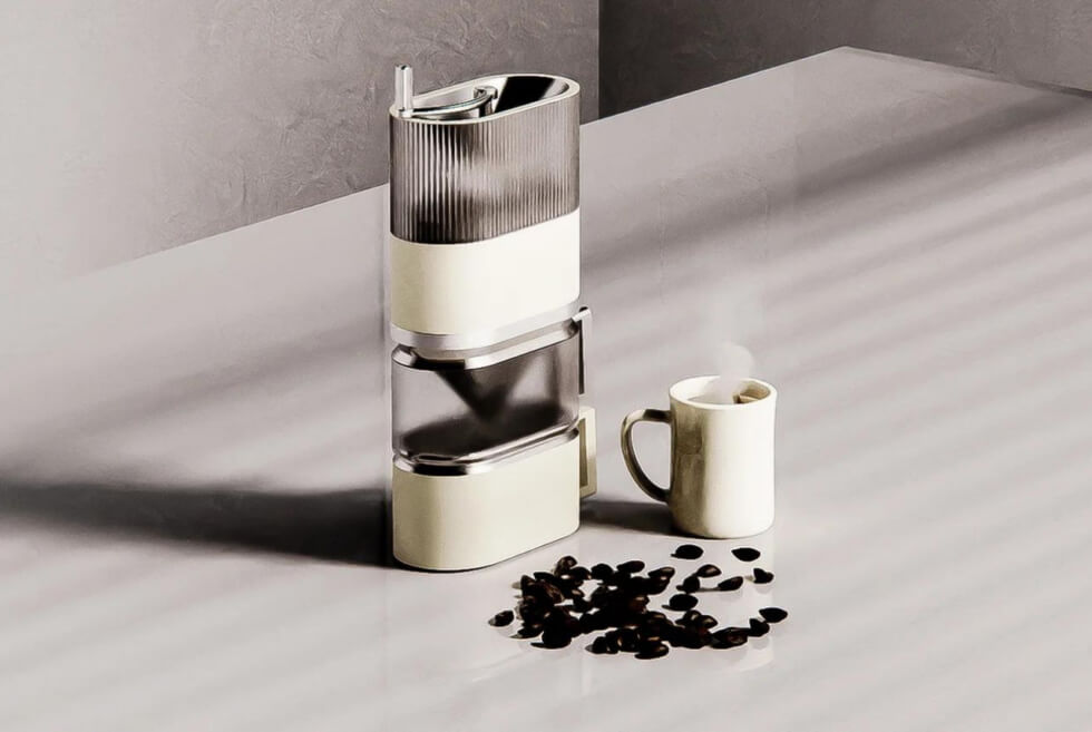 The Cenga Is A Jenga-Inspired Coffee Maker For On-The-Go Java Fix