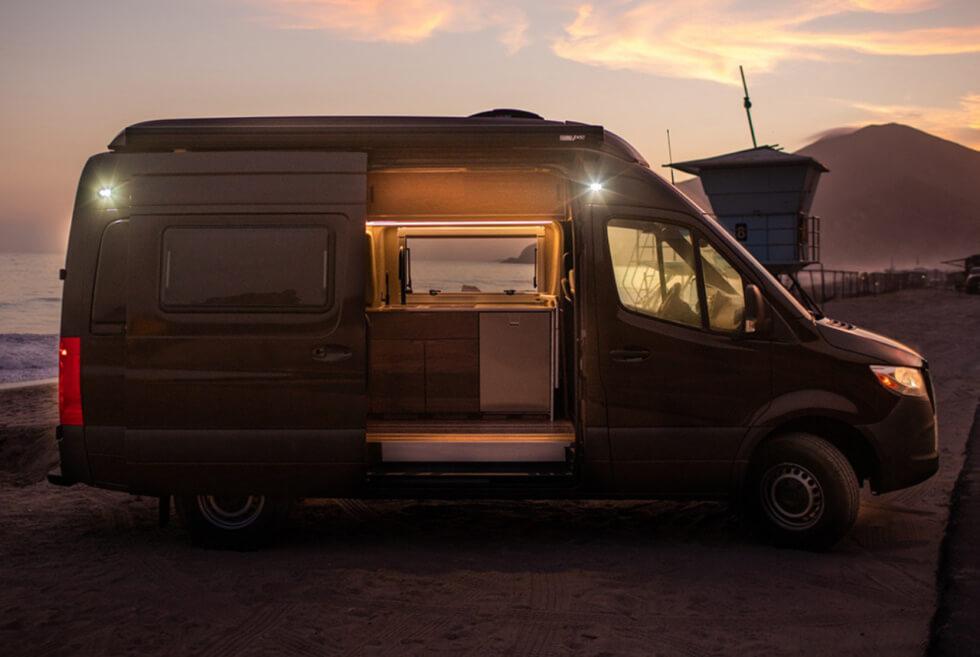 The Texino Switchback II Camper Van Brings The Comforts of Home Living