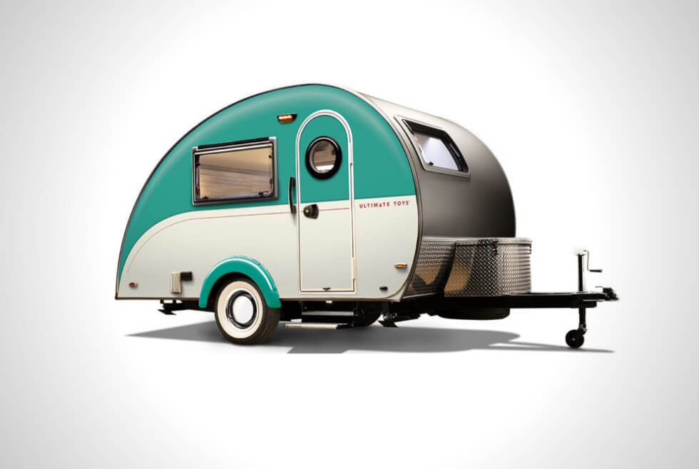 Ultimate Toys' ULTIMATE CAMPER Boasts 2 Kitchens and Other Modern Comforts