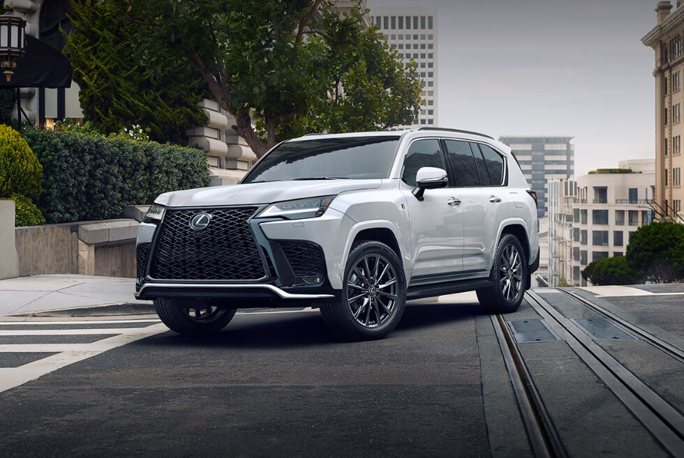 This 2022 Lexus LX 600 Is The Upscale Toyota Land Cruiser You Always Wanted