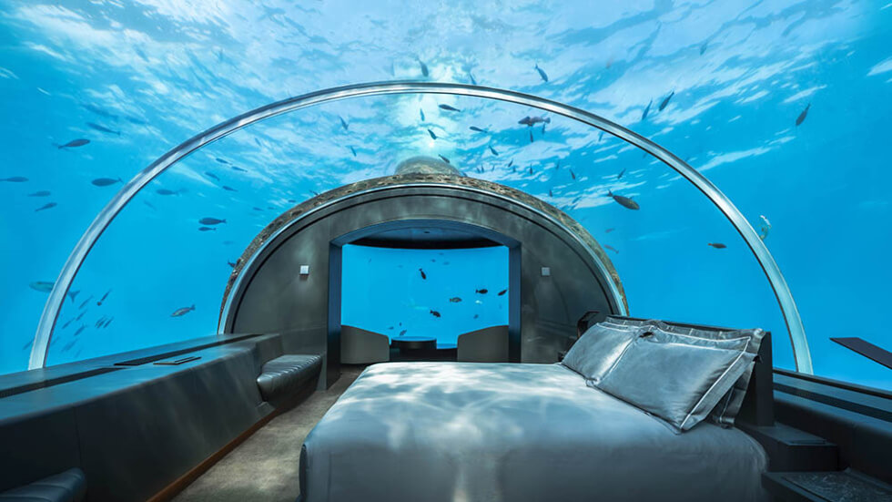 Conrad Maldives Is Now Offering A $125,000 Under The Sea Tour Package For Six