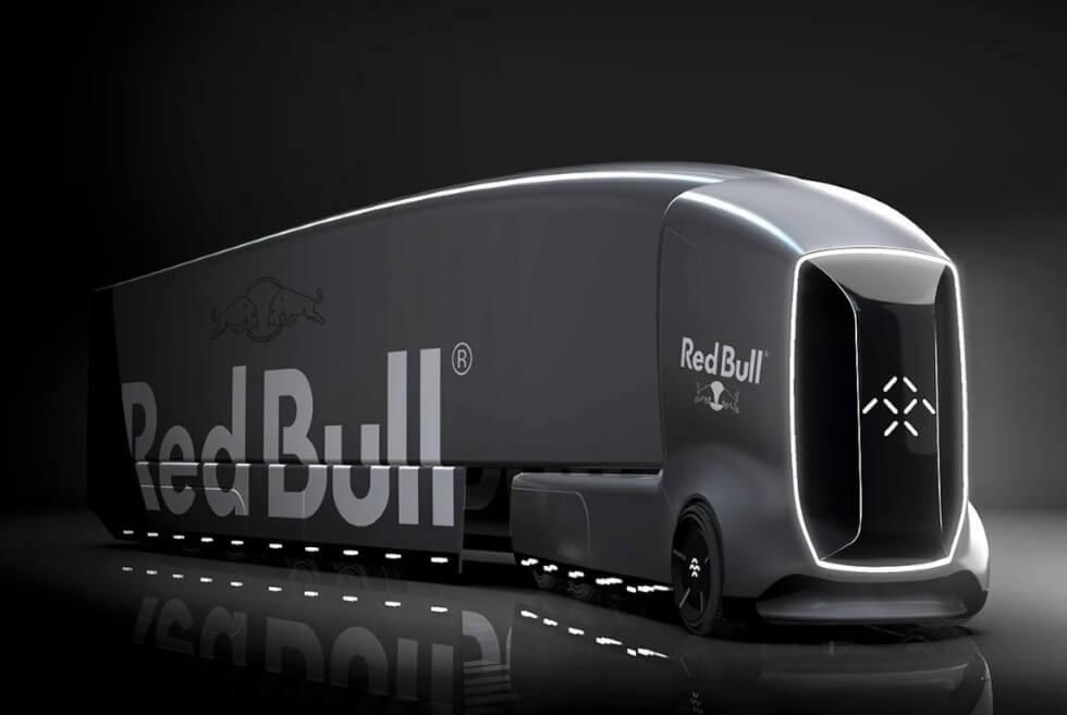 Daniel Pokorný Envisions What A Self-Driving Semi-Truck From Faraday Future Can Do