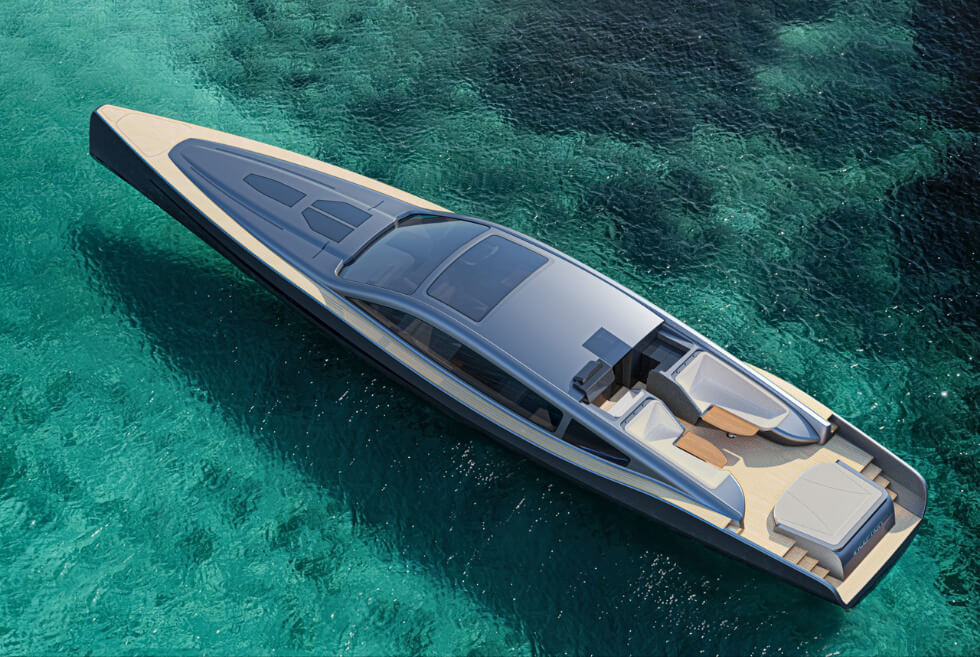 The Inception 24 Concept Is Bury Design's Racing-Inspired Luxury Leisure Vessel