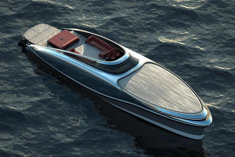 The Embryon Hyper Boat Is Lazzarini Design Studio's Sleek And Speedy Cruiser Concept