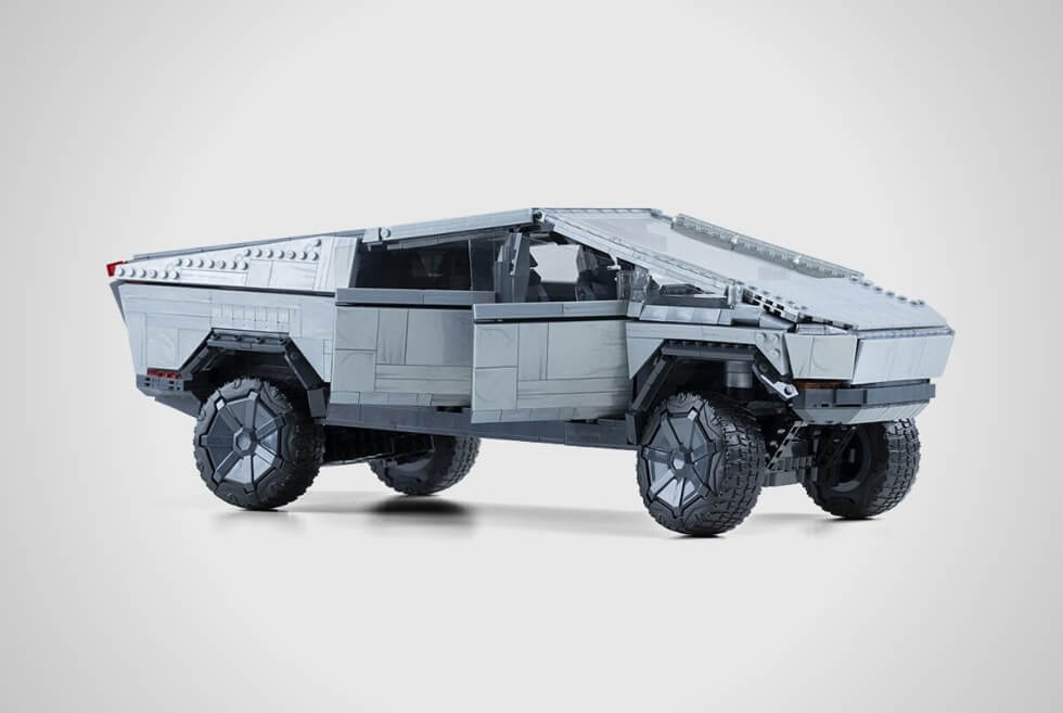 The Mattel Creations MEGA X Cybertruck Is A Buildable 3,283-Piece 1:12 Scale Model Kit