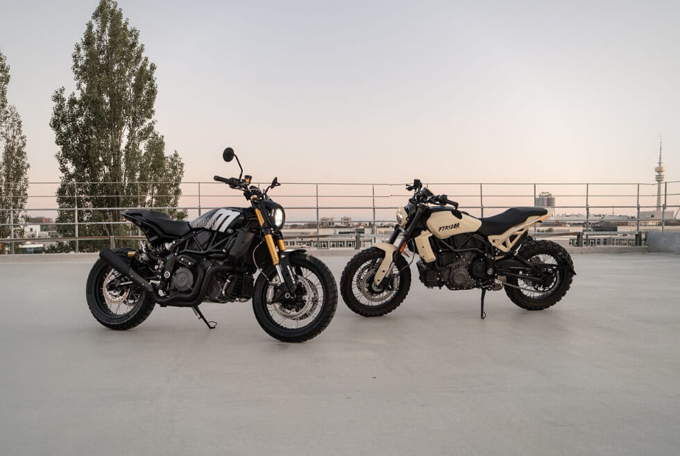 You Can Now View The Bespoke Indian FTR 1200 collection at MOTOISM's Munich HQ